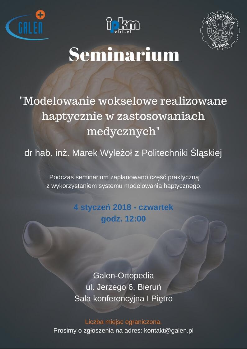 Seminarium nt.modelowania wmedycynie